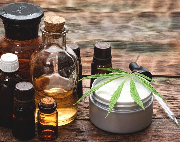 CBD oils and creams