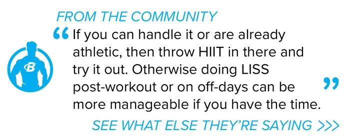 Cardio forum quote
