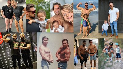 We 'Mirin Fit Fathers banner