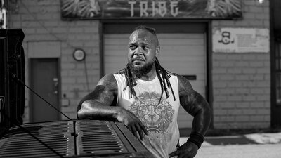 How a Pro Strongman Lifts Up His Community