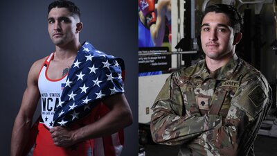 This Soldier Wants to Throw the Wrestling World on Its Head banner