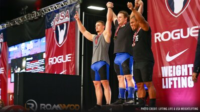 USA Weightlifting Nationals Are Back! banner
