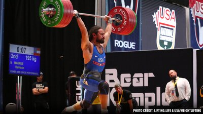 USA Weightlifting Nationals Results banner