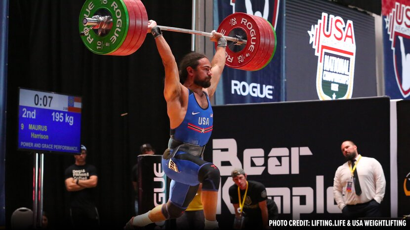 2021 USA Weightlifting Nationals Results