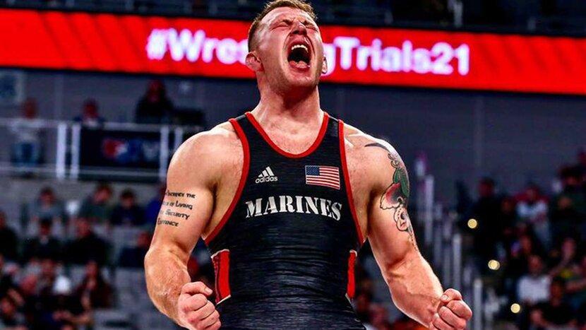 Wrestler John Stefanowicz is an Unlikely Olympian
