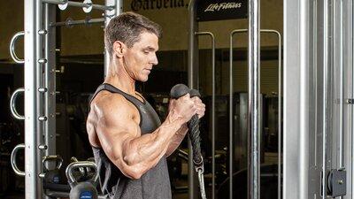 Machine Pump Biceps Workout