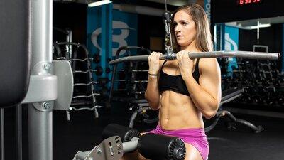 Machine Pump Back Workout