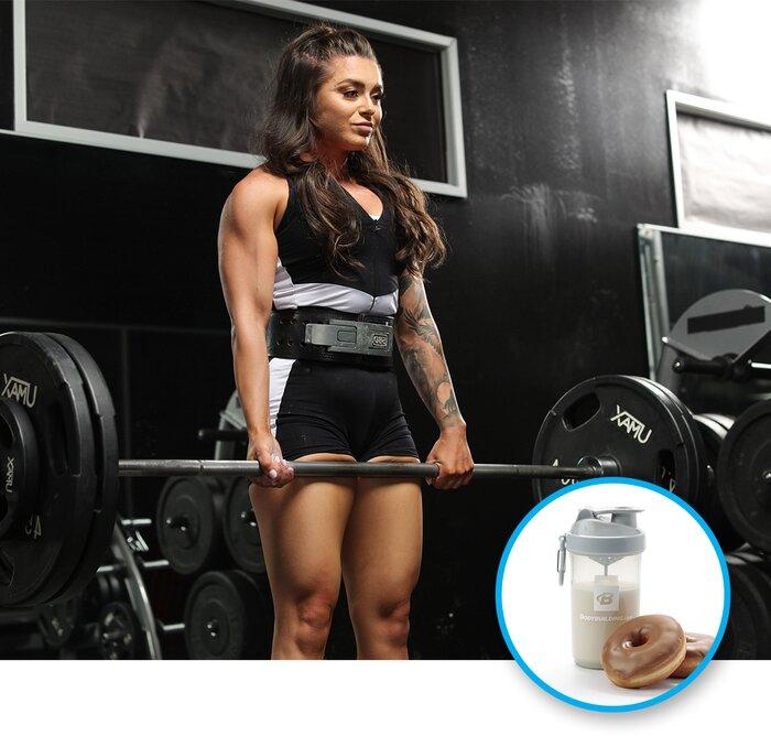 Deadlift / Protein shake