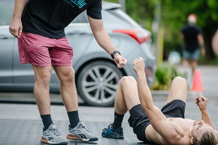 Rhapsody Fitness Murph Challenge