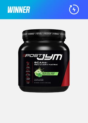 JYM Supplement Science Post Jym BCAAs + Recovery Matrix