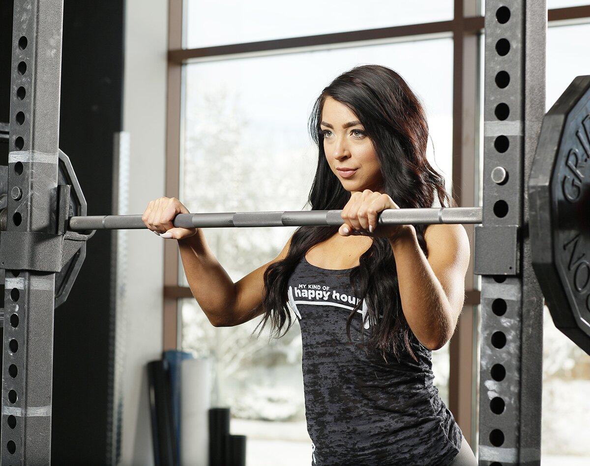 Preparing to lift