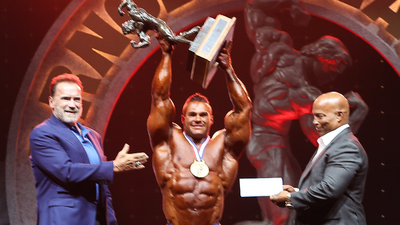 Arnold Classic 2021 Results banner