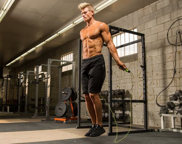 Training with a jump rope