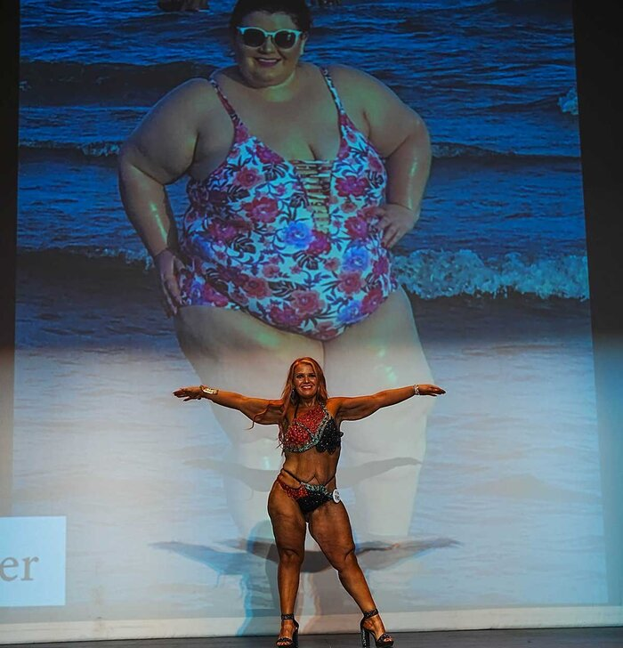 Jessica Fauver on stage