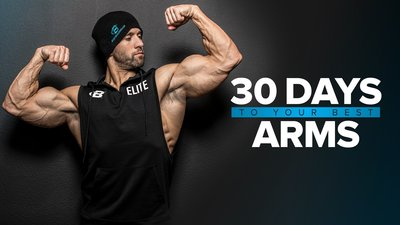 30 Days To Your Best Arms mobile header image