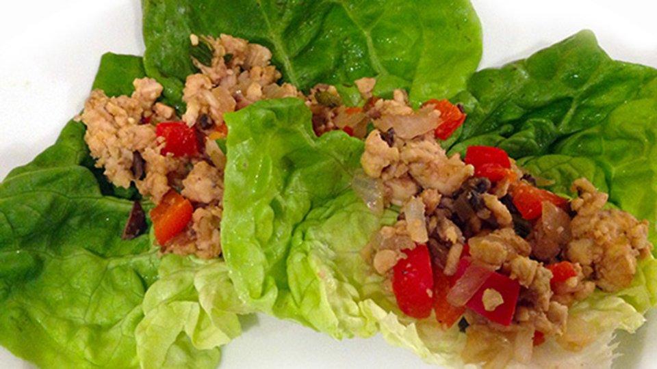 Tempeh Lettuce Wraps