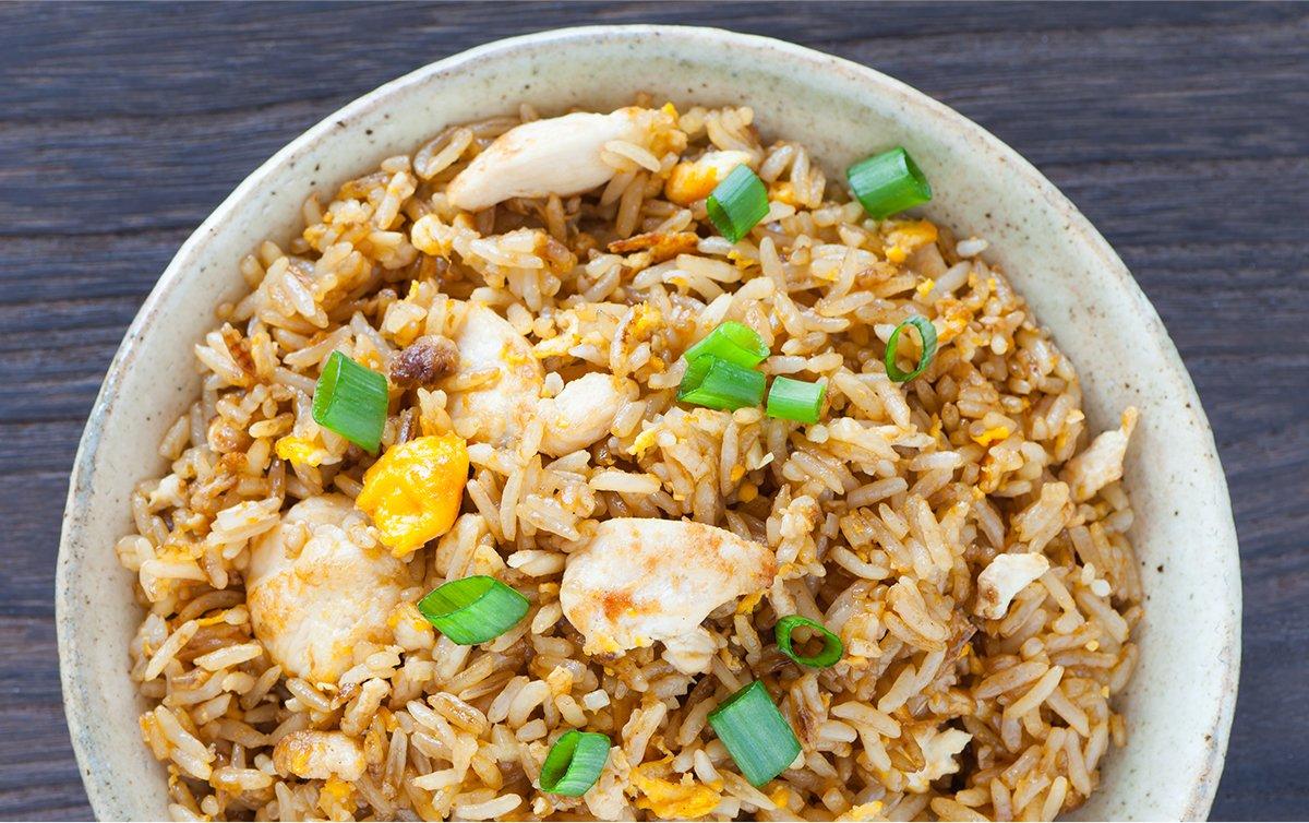 Chicken 'Fried' Rice