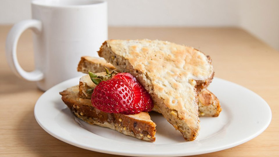 High-Protein Ezekiel French Toast