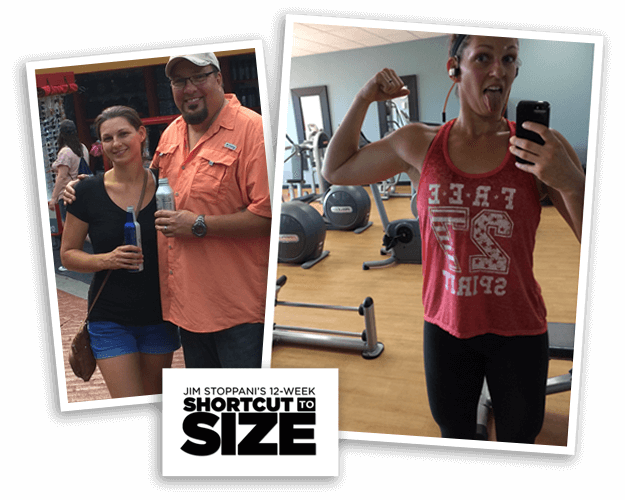 Amber gained 4 lbs of muscle and lost 3.5% body fat!