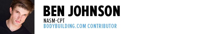 Ben Johnson, NASM-CPT