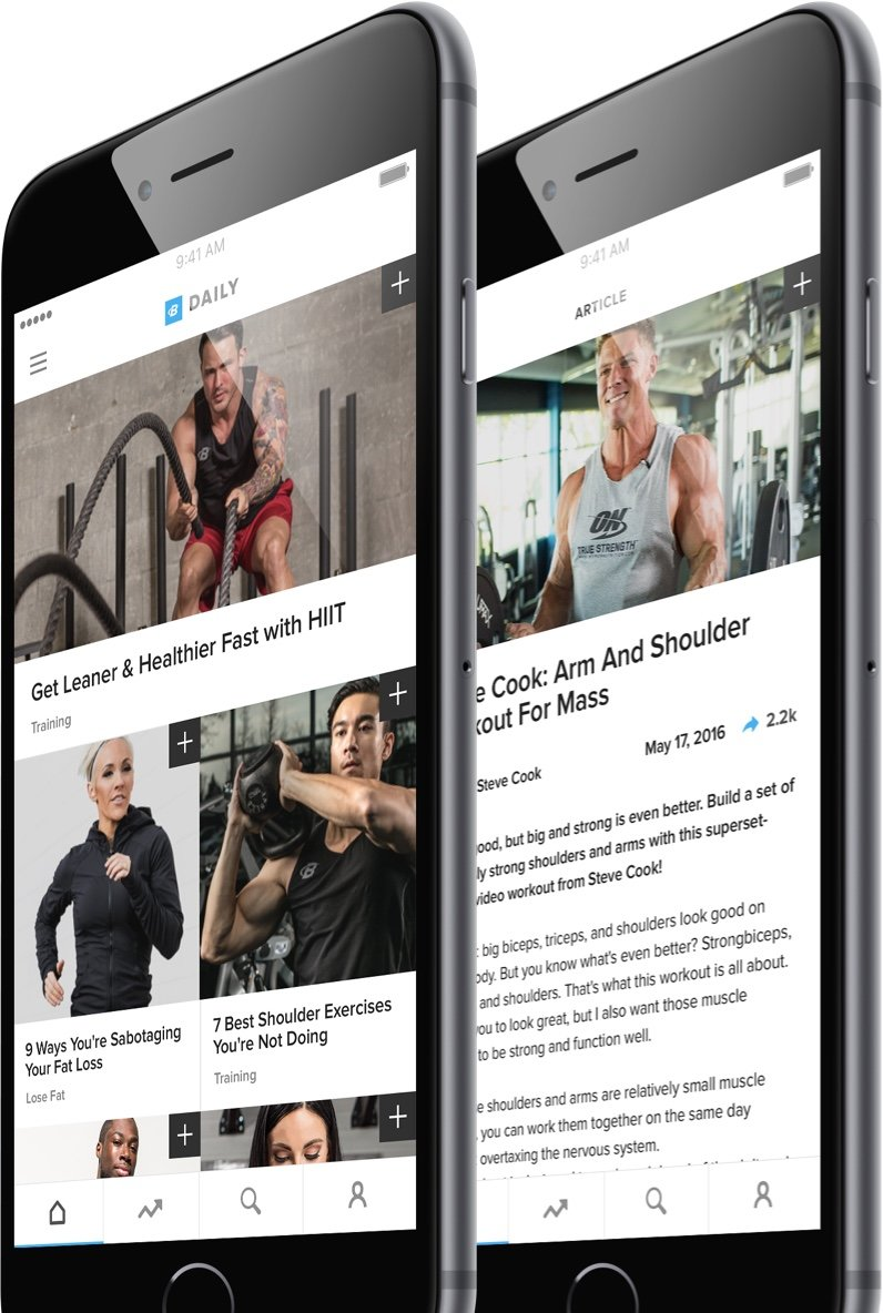 B-Daily Fitness App