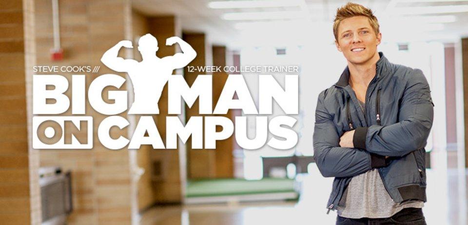 Steve Cook's Big Man On Campus 12-Week College Trainer