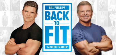 Bill Phillips Back To Fit 12-Week Trainer