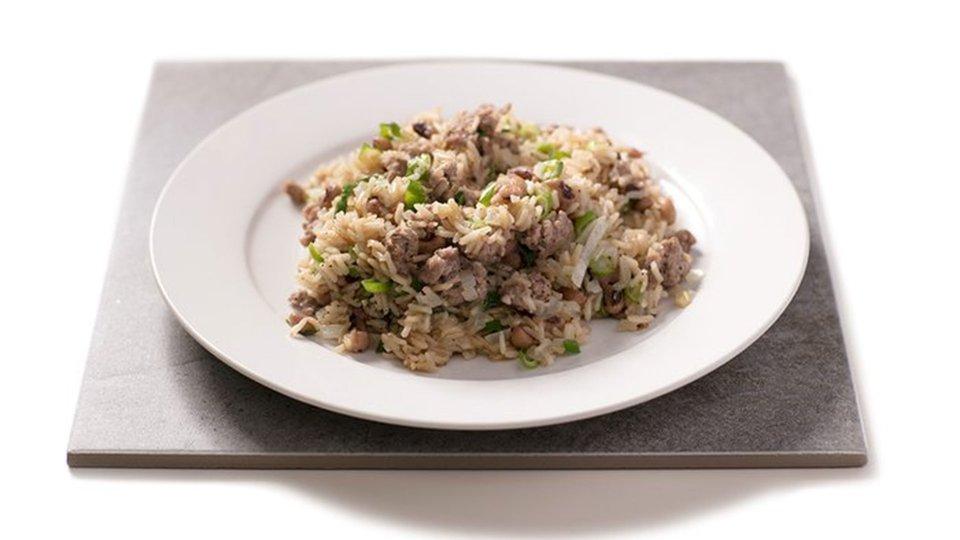 Black-Eyed Pea And Sausage Rice