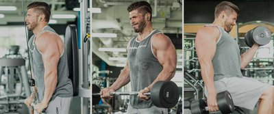 Brian Casad's Arm-Building Superset Workout!