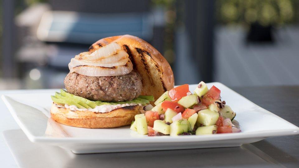 Chef Robert Irvine: Lamb Burger
