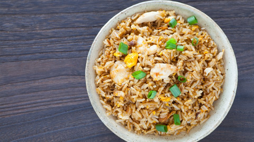 Chicken and Fried Rice