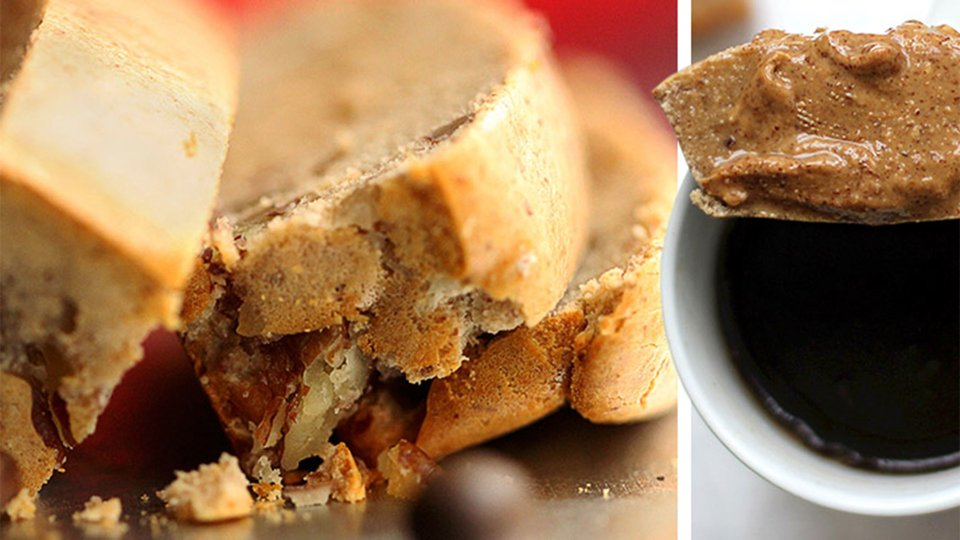 Coffee and Pecan Protein Bread