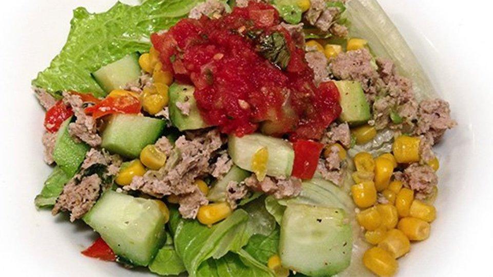 Corn and Turkey Salad