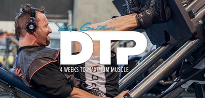 Kris Gethin's DTP: 4 Weeks To Maximum Muscle