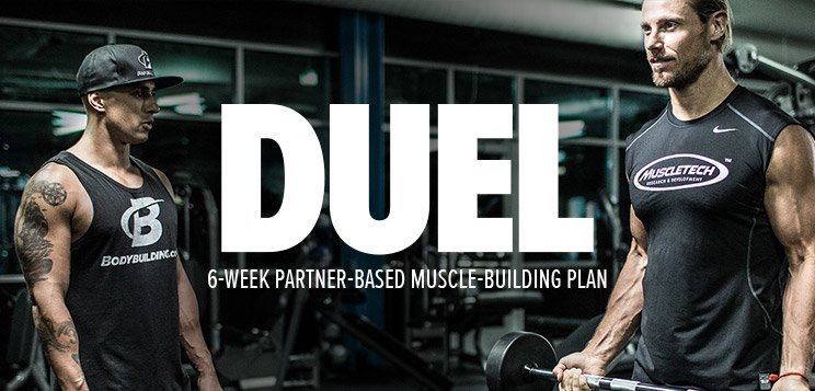 Duel muscle-building plan