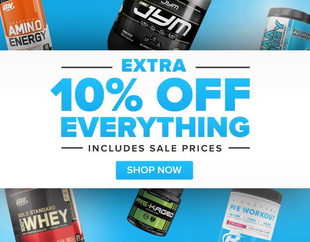 """10% off at BodyBuilding.com with promo code """"JANUARY10"""""""