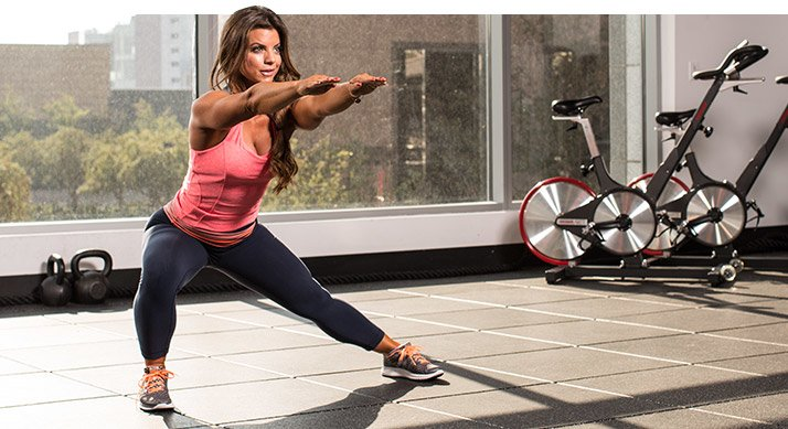 Fitness-Model Bodyweight Workouts!