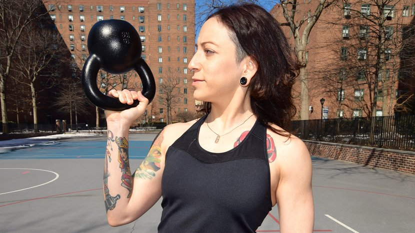 The Best, And Toughest, Way To Press A Kettlebell