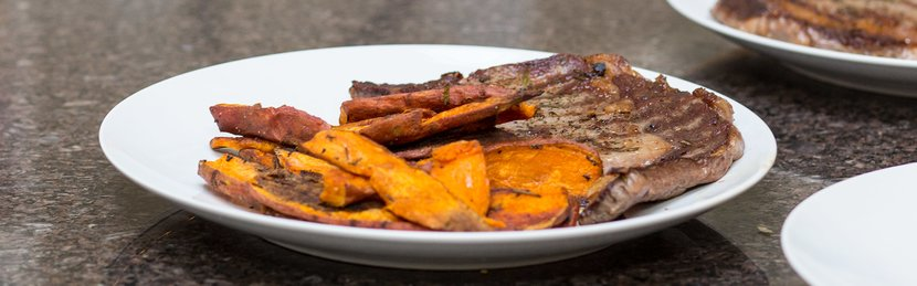 FreakMode Recipes: Steak And Sweet-Potato Fries