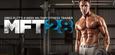 MFT28: Greg Plitt's 4-Week Military Fitness Trainer By MET-Rx