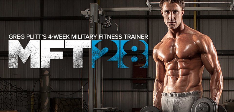 MFT28: Greg Plitt's 4-Week Military Fitness Trainer By MET-Rx