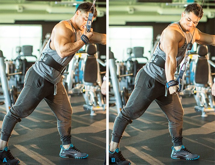 Triceps Cable Press Down