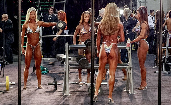 On the morning of prejudging at the 2014 Olympia, Nicole felt good. She was relaxed, at peace, and exactly where she needed to be.
