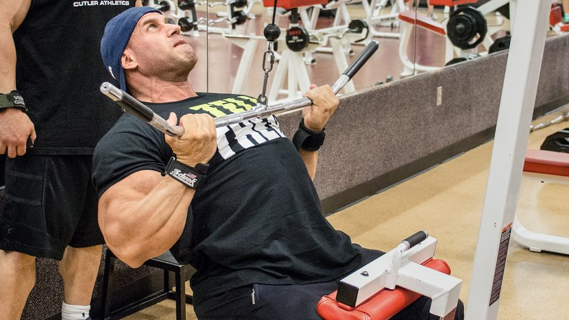 Jay Cutler's Two-A-Day Back Training Is Calling You