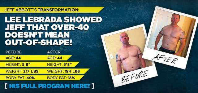 Lee Labrada Showed Jeff That Over-40 Doesn't Mean Out-Of-Shape!