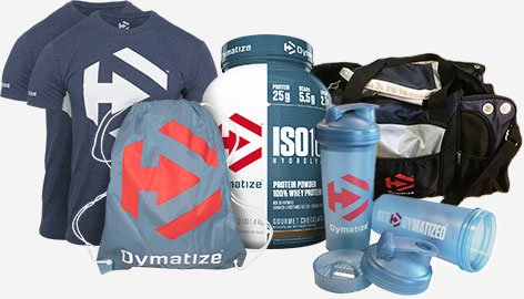 Dymatize Prize Package