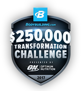 $250,000 Transformation Challenge 2017, Presented By Optimum Nutrition