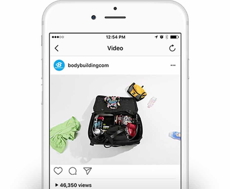 Bodybuilding.com Instagram: Bags Packed!