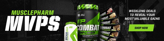 Great Deals on MusclePharm products!