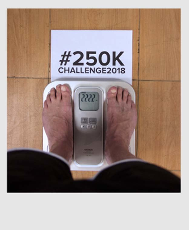 Picture of scale with weight